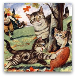 vintage_cats_playing