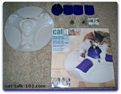 Catit Deluxe Cat Spa Product Pieces